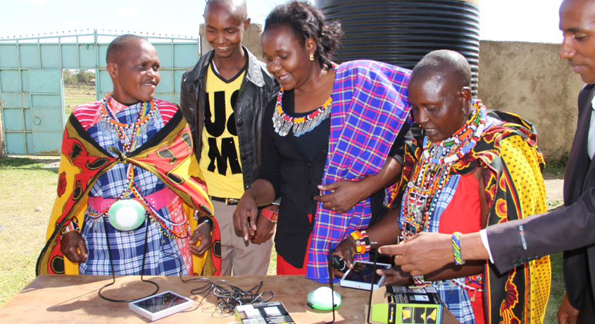 Narok Outreach Solar Lighting Installation