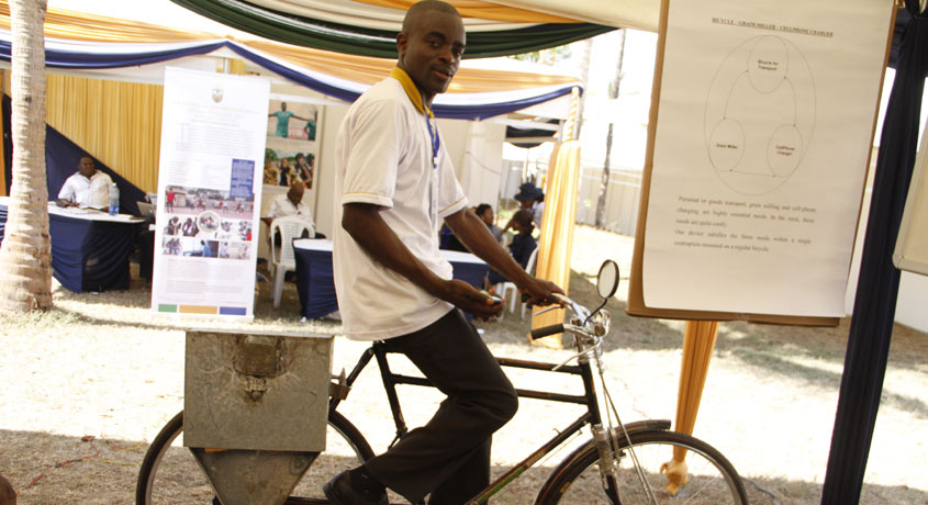 TU-K Student innovation - Posho Mill Bicycle