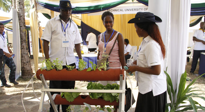 TU-K Student innovation compact irrigation