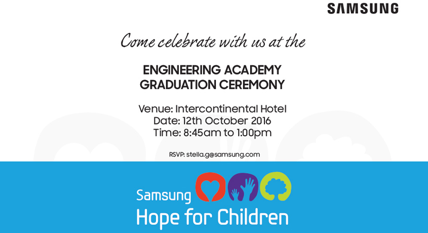 Samsung Engineering Academy Graduation Ceremony